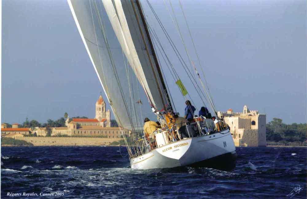 Alcor II, fast cruising Yawl